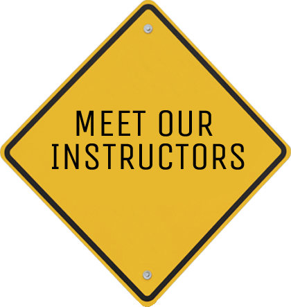 Meet our instructors